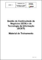 Gestão de Continuidade de Negócios (GCN) e de Tecnologia da Informação (GCSTI)