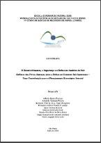 O Desenvolvimento, a Segurança e a Defesa na América do Sul