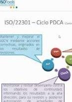ISO 22301:2012: Gestión de Continuidad de Negocio. Parte I